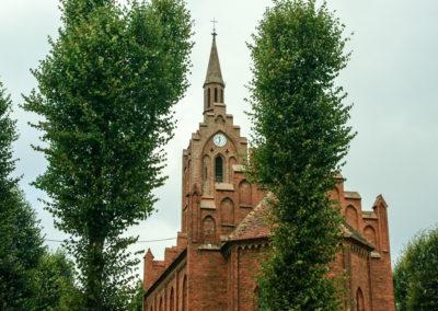 Nowy zegar na kościele w Ownicach 3