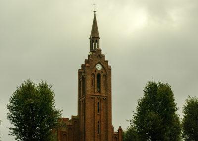 Nowy zegar na kościele w Ownicach 5