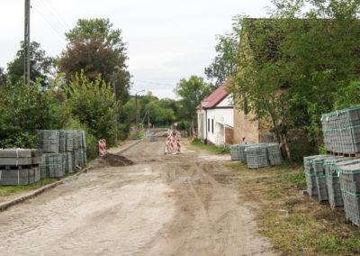 Remont ulicy młyńskiej 6